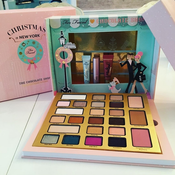 The Chocolate Shop Too Faced Noël 2016