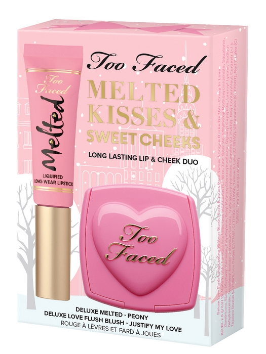Melted Kisses Sweet Cheeks Too Faced Noël 2016